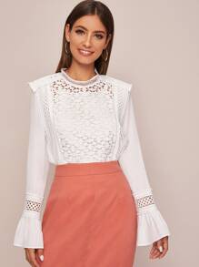 Camisole | Sleeve | Sheer | Bell | Lace | Top