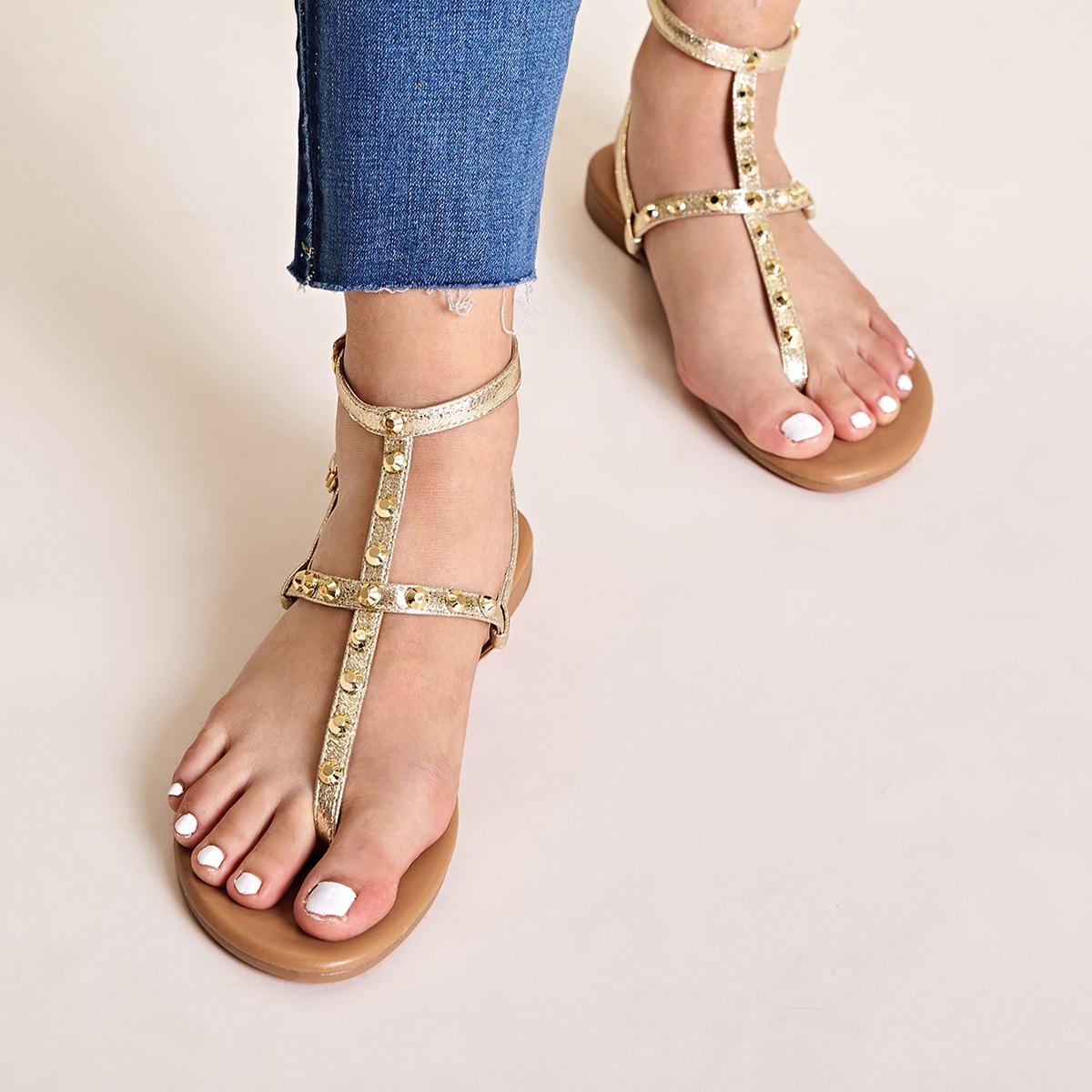 Veel kleurig Comfortabel Sandalen