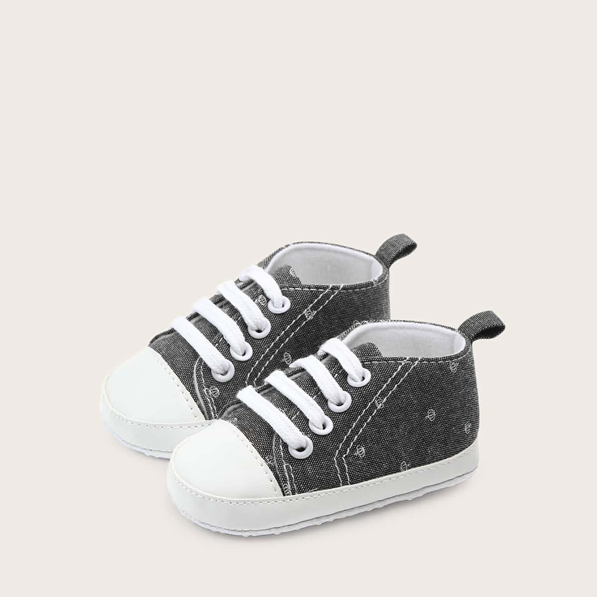 Grijs Comfortabel Baby sneakertjes