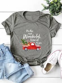 Christmas | Print | Tree | Tee