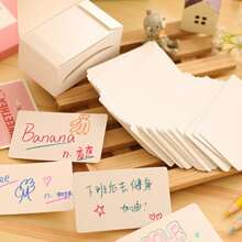 100pcs Writing Paper Card
