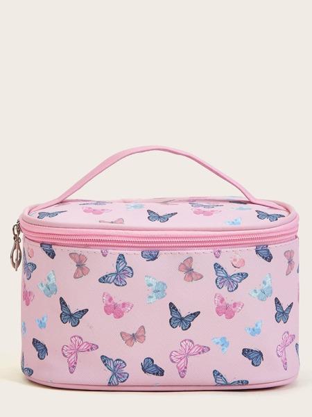Butterfly Pattern Makeup Bag