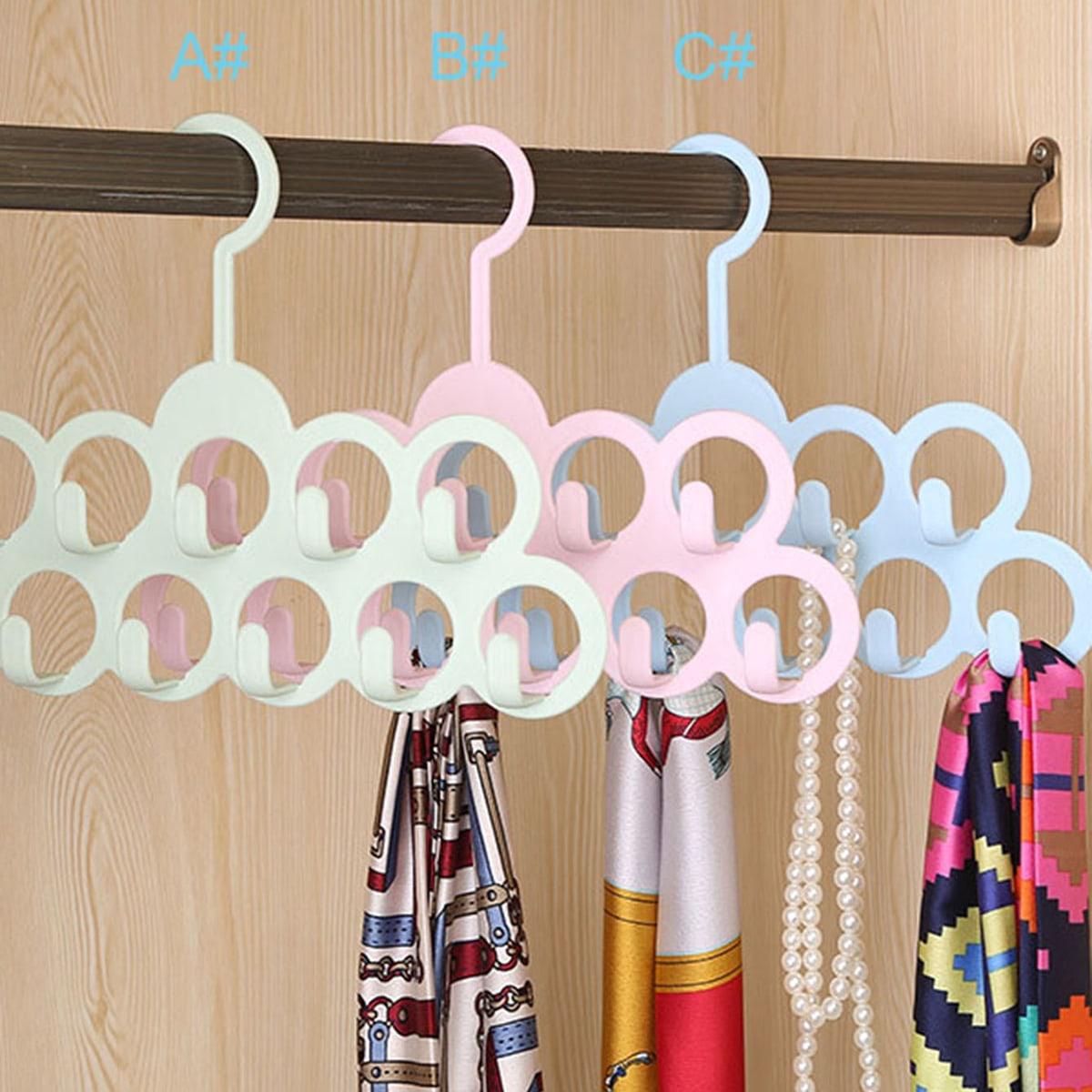 Multifunctionele 11-gaats sjaalhanger