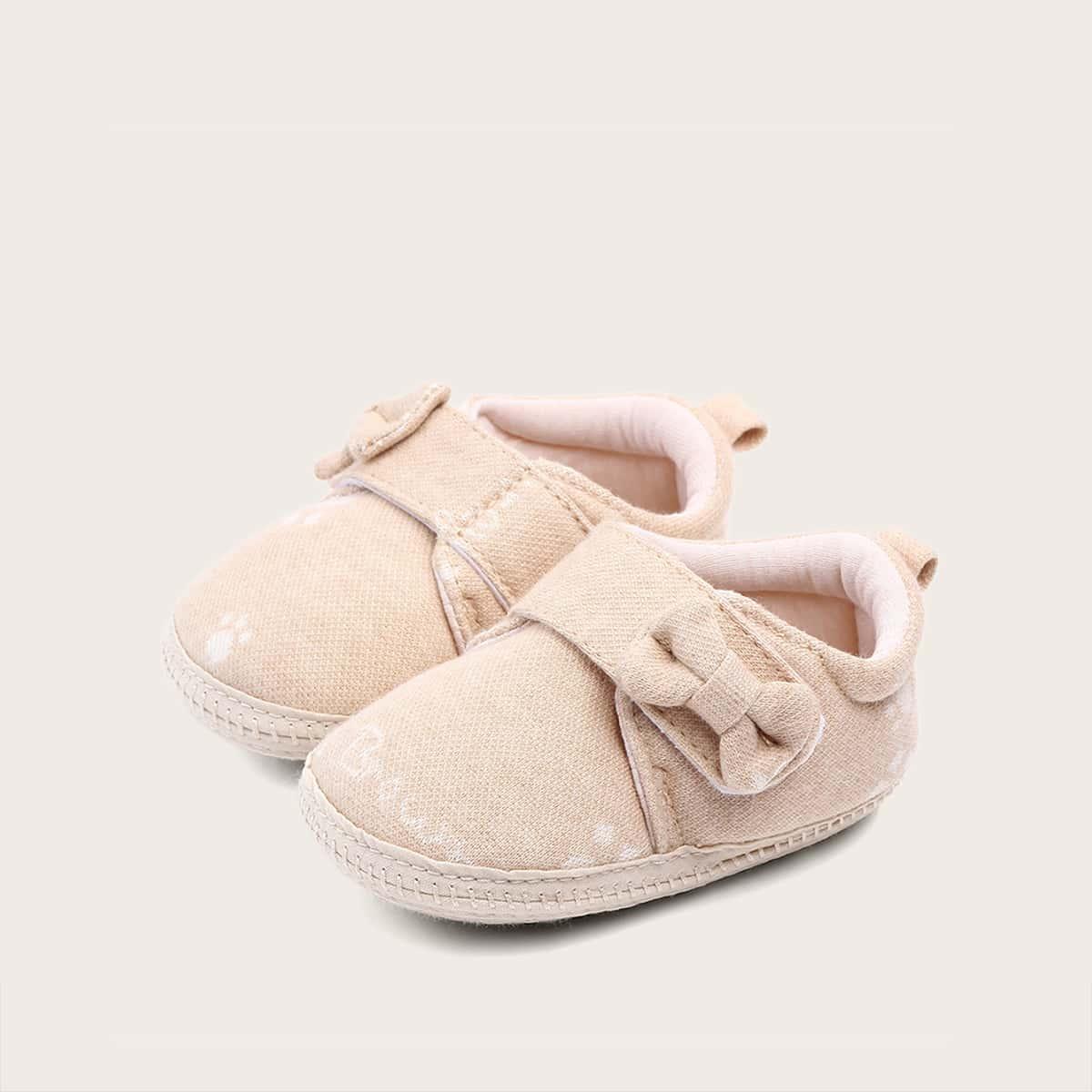 Roze  Comfortabel Vlak Baby platte schoentjes