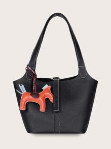 Horse   Charm   Tote   Bag