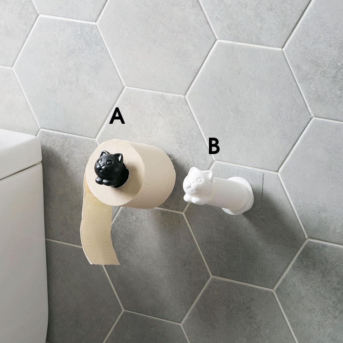 Multifunctionele toiletrolhouder van 1 st