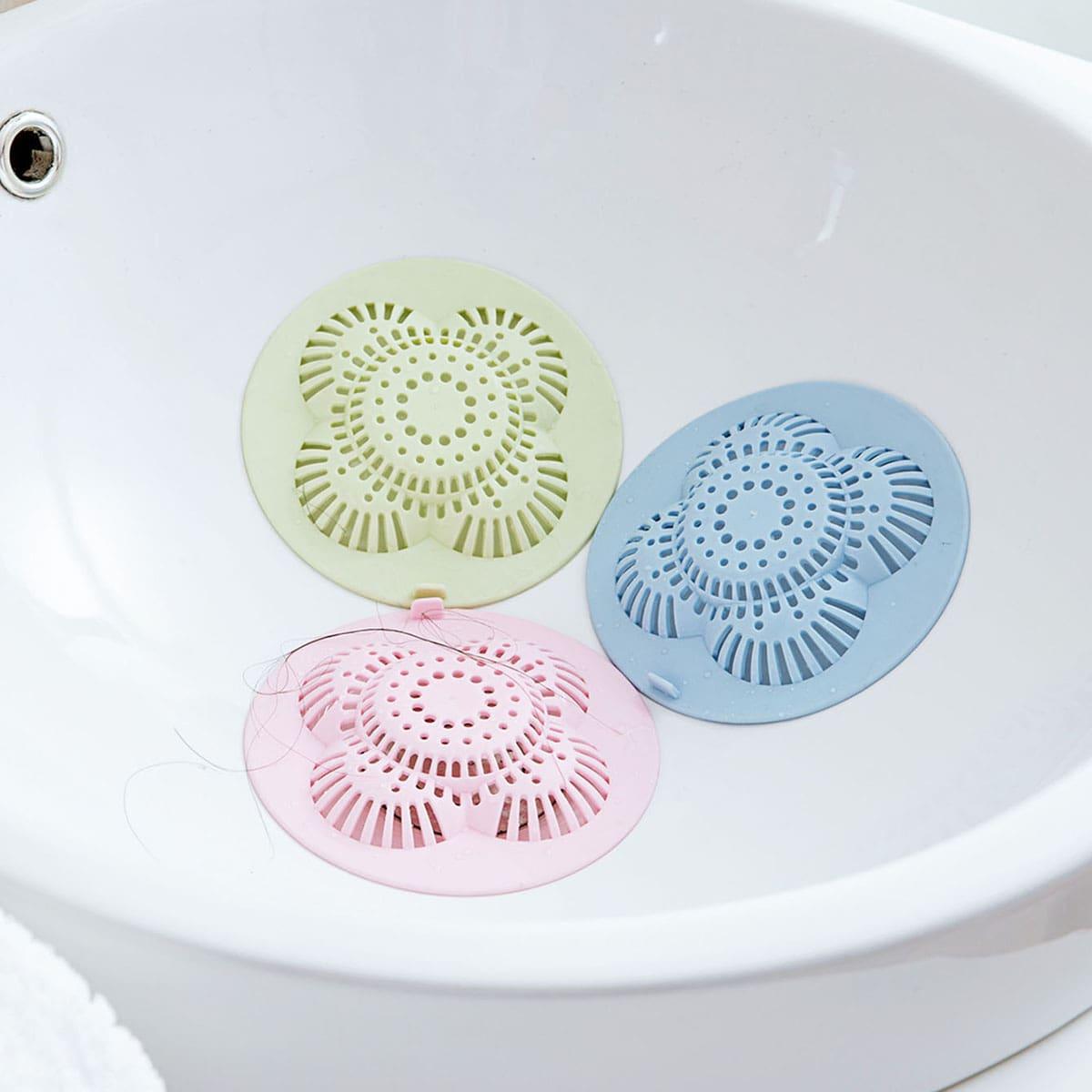 1pc willekeurige badkamer afvoerputje haarzeef