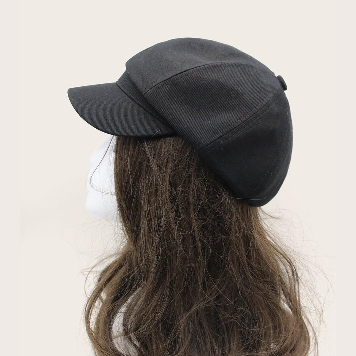 Простая однотонная шляпа для мальчиков от SHEIN