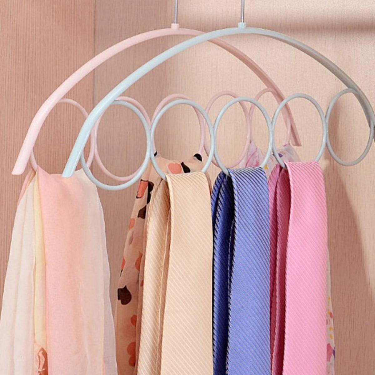 1pc 5 cirkel ontwerp sjaal hanger