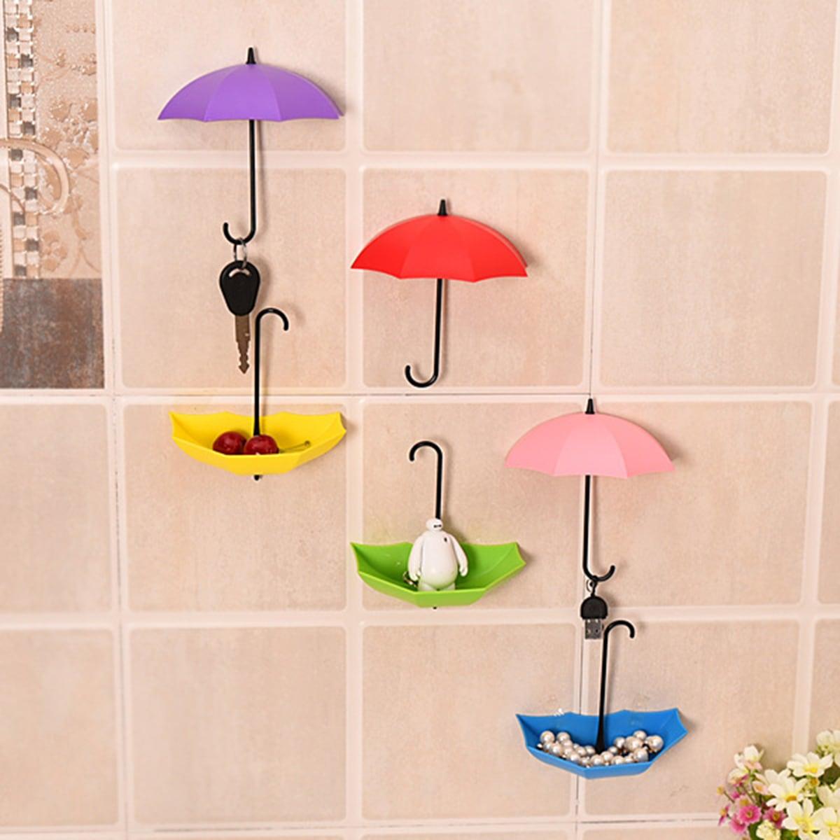 3 stks willekeurige paraplu gevormde muur haak