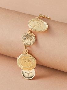 Rhinestone | Bracelet | Charm | Decor | Coin