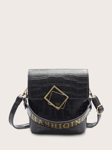Satchel | Handle | Croc | Bag