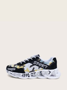 Camouflage | Sneaker | Front | Men