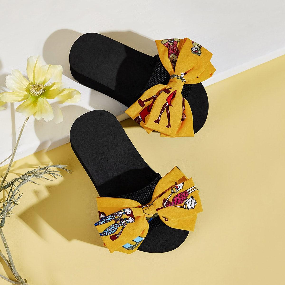 Geel Comfortabel Kinder slippers