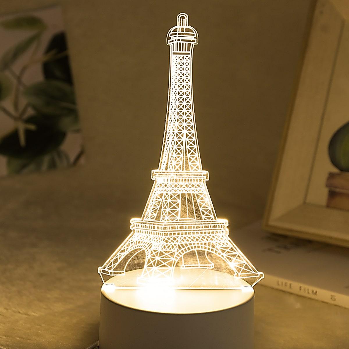 Eiffeltoren vormige tafellamp
