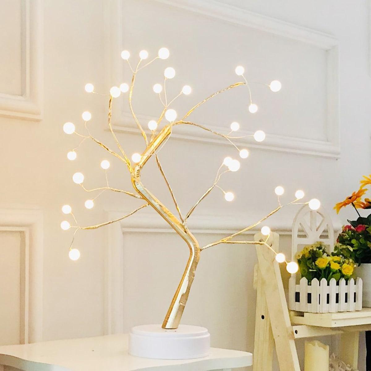 36 stks bolvormige boomvormige nachtlamp