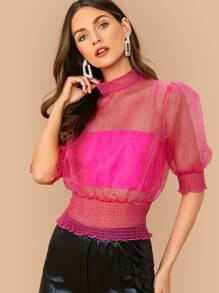 Camisole | Neon | Pink | Top