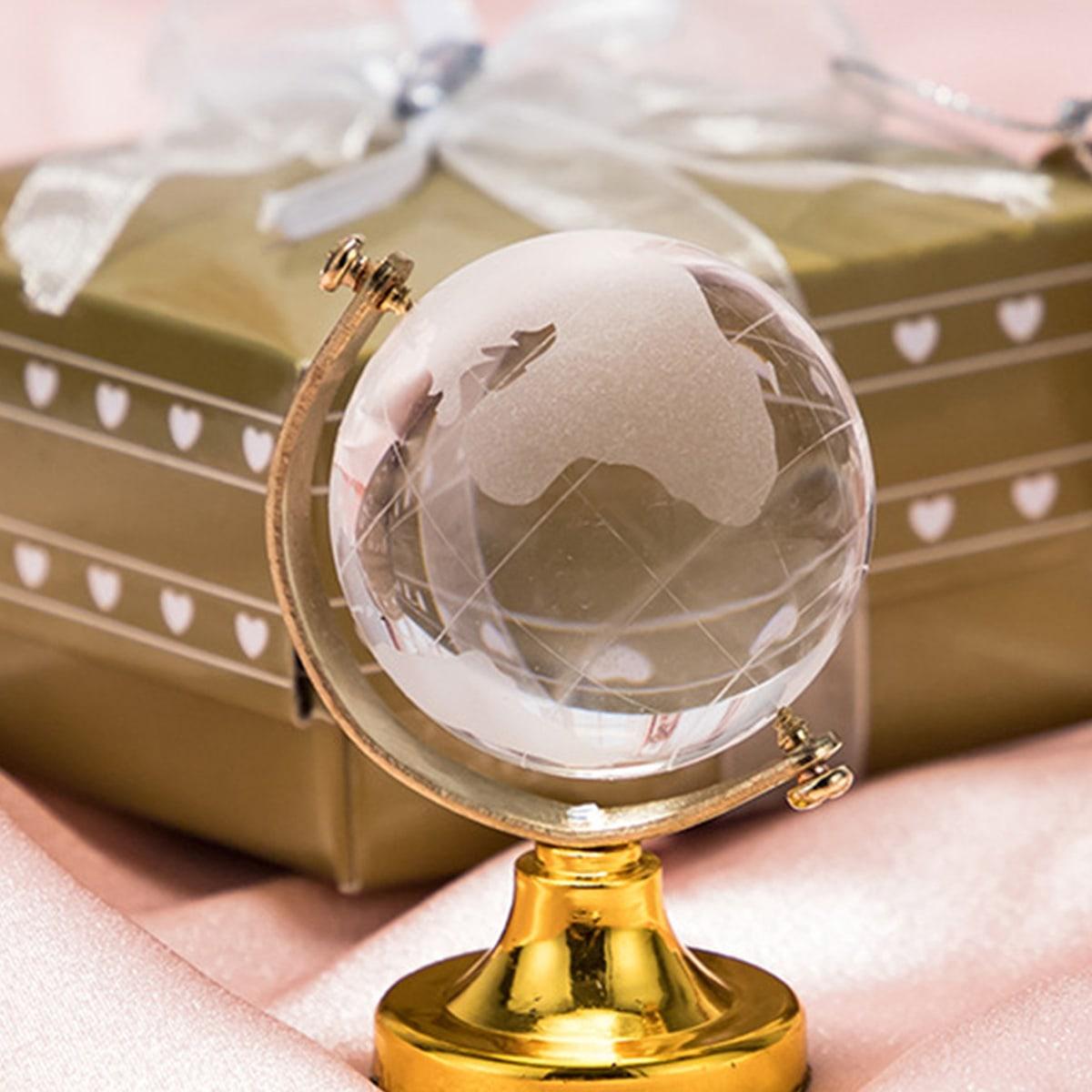 1pc kristallen glazen bol decoratief object