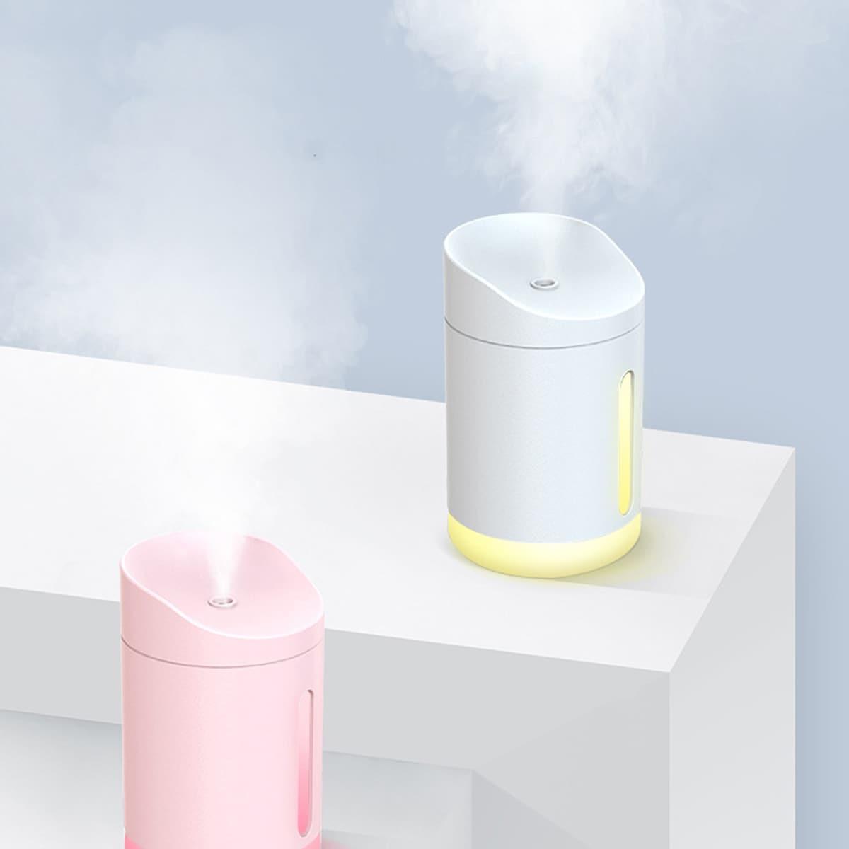 1pc Solid Mini luchtbevochtiger licht