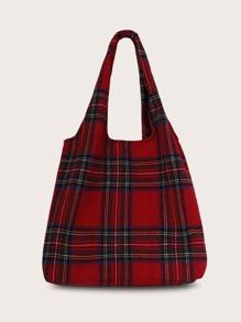 Plaid | Tote | Bag
