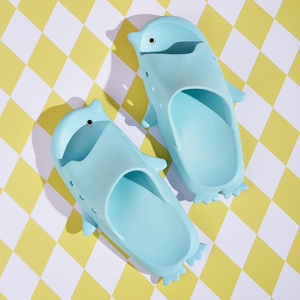 Blauw Comfortabel Vlak Kinder slippers