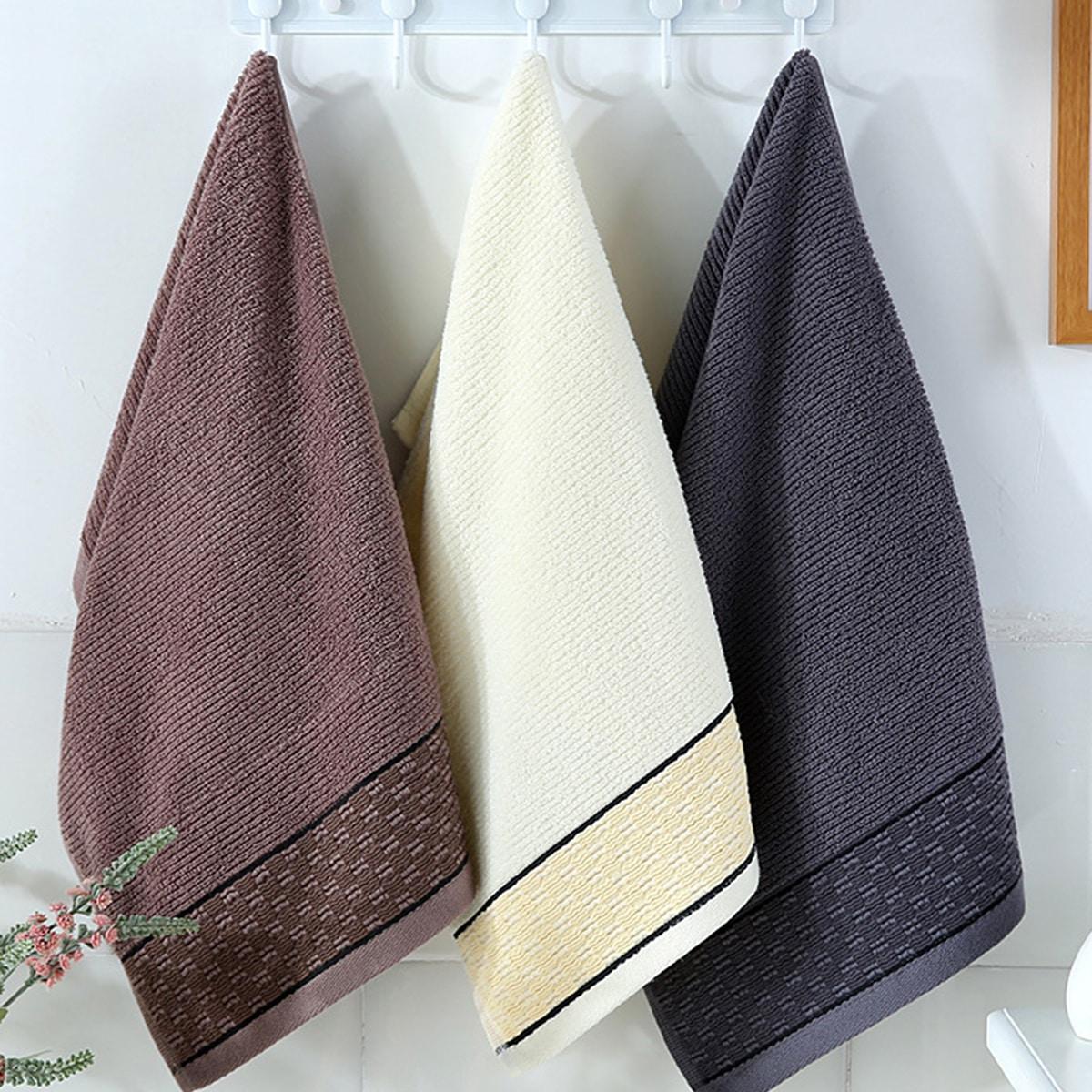 1pc willekeurig patroon handdoek