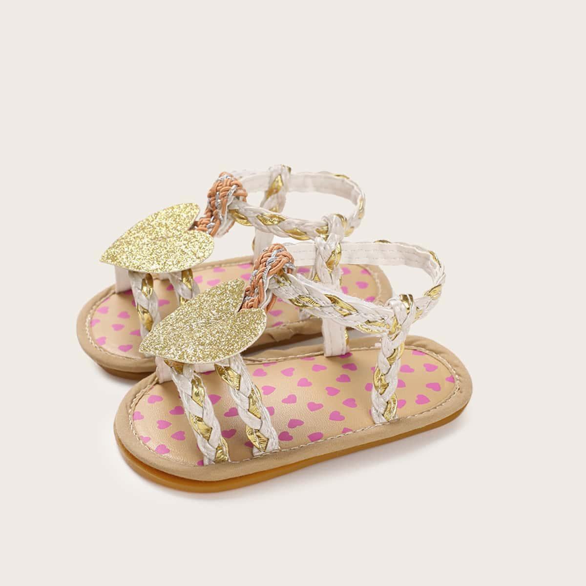 Goud Comfortabel Baby sandaaltjes