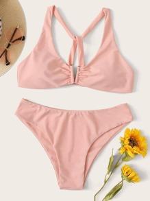 Wireless | Swimsuit | Bikini | Knot | Back