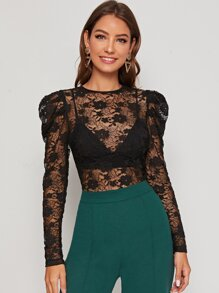 Sleeve | Lace | Top