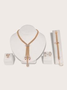 Rhinestone | Bracelet | Necklace | Engrave | Earring | Charm | Ring