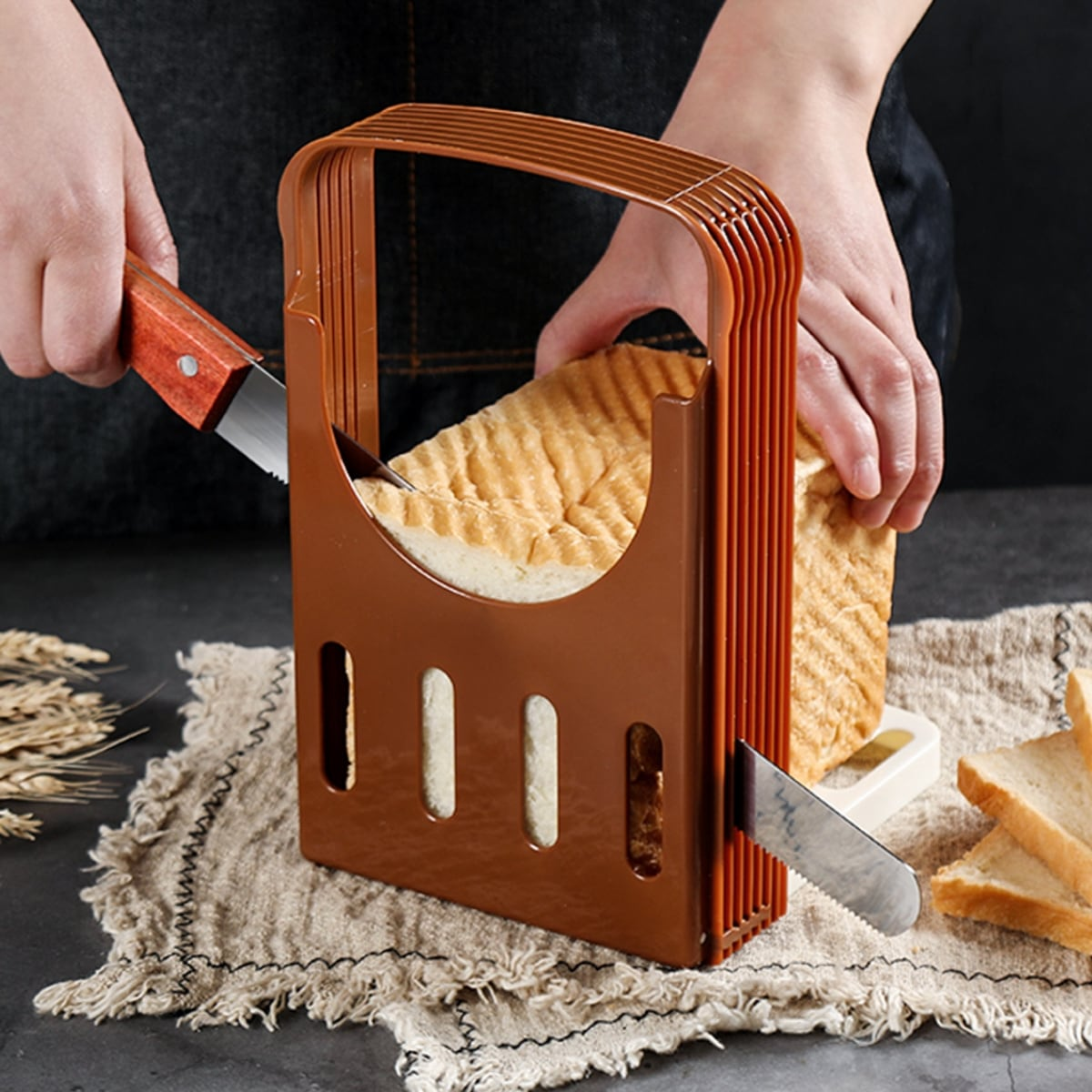 Toast Slicer Mold