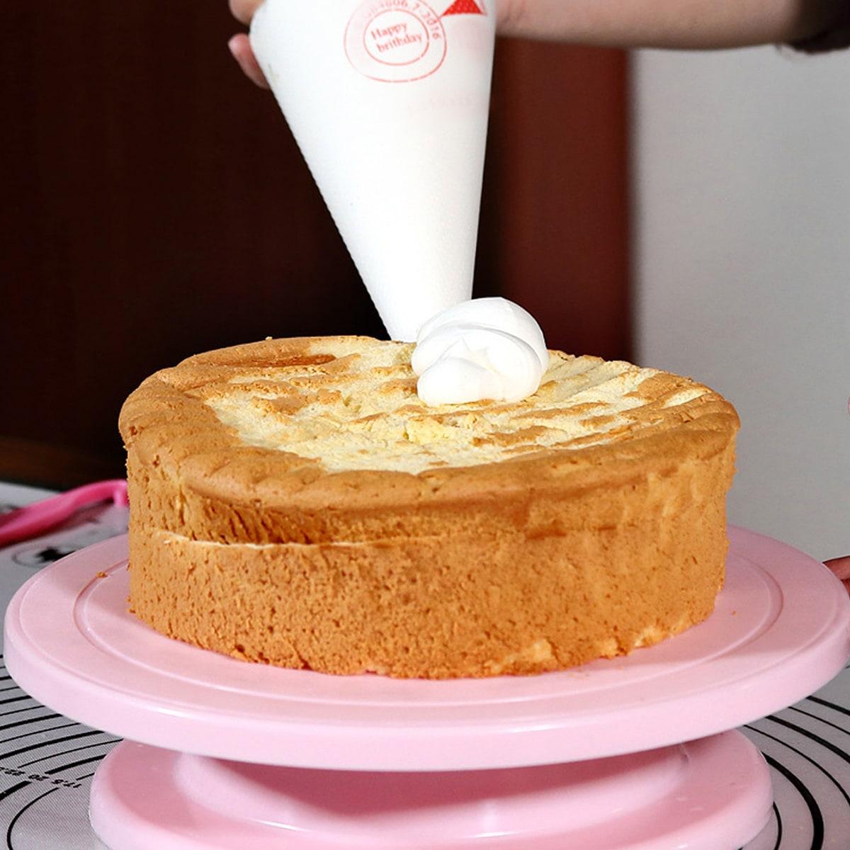 1pc DIY roterende ronde taartstandaard