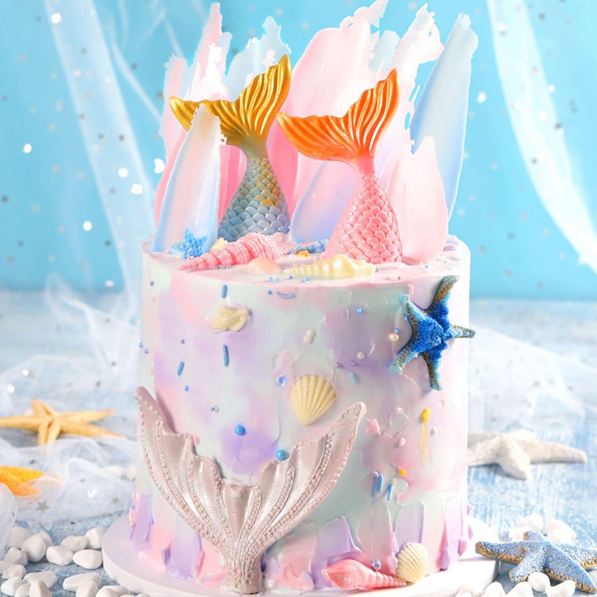 1-delige siliconen cakevorm uit de Ocean-serie