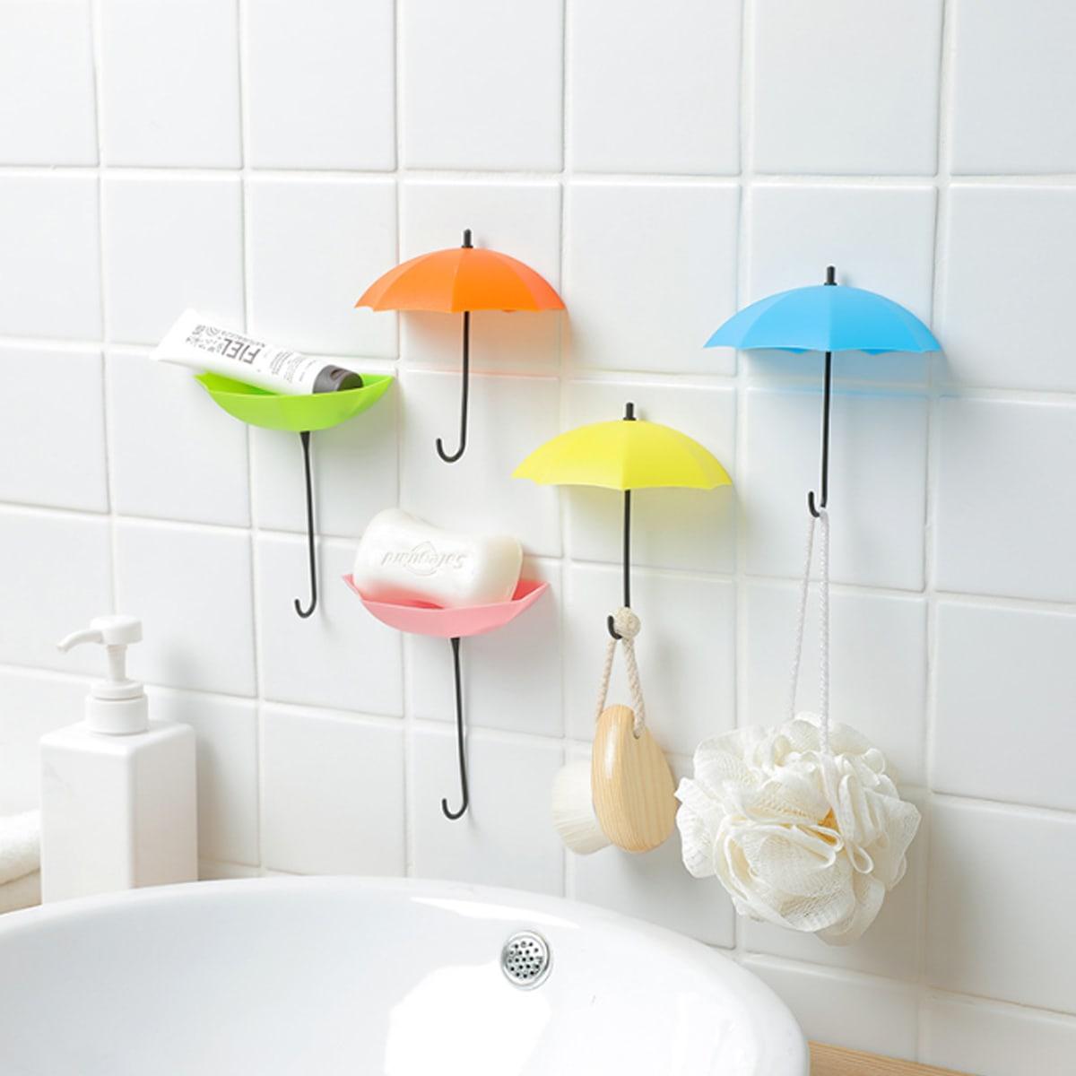 3 stuks leuke parapluvormige wandhaak