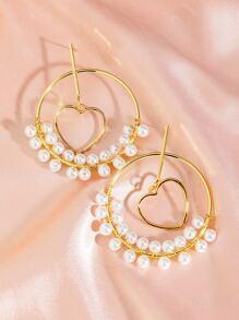 Earring | Charm | Pearl | Heart | Hoop | Faux
