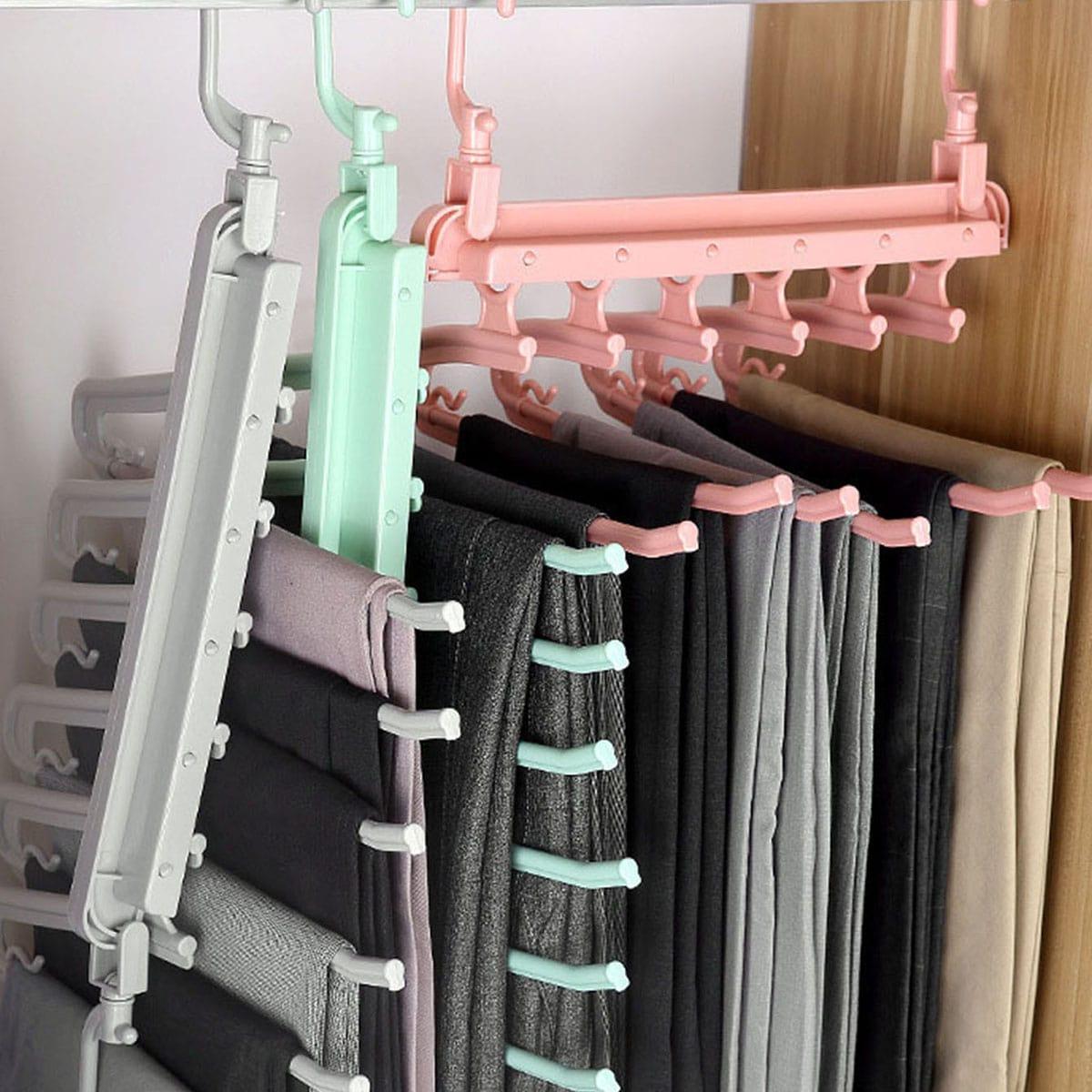 1pc meerlagige opvouwbare hanger