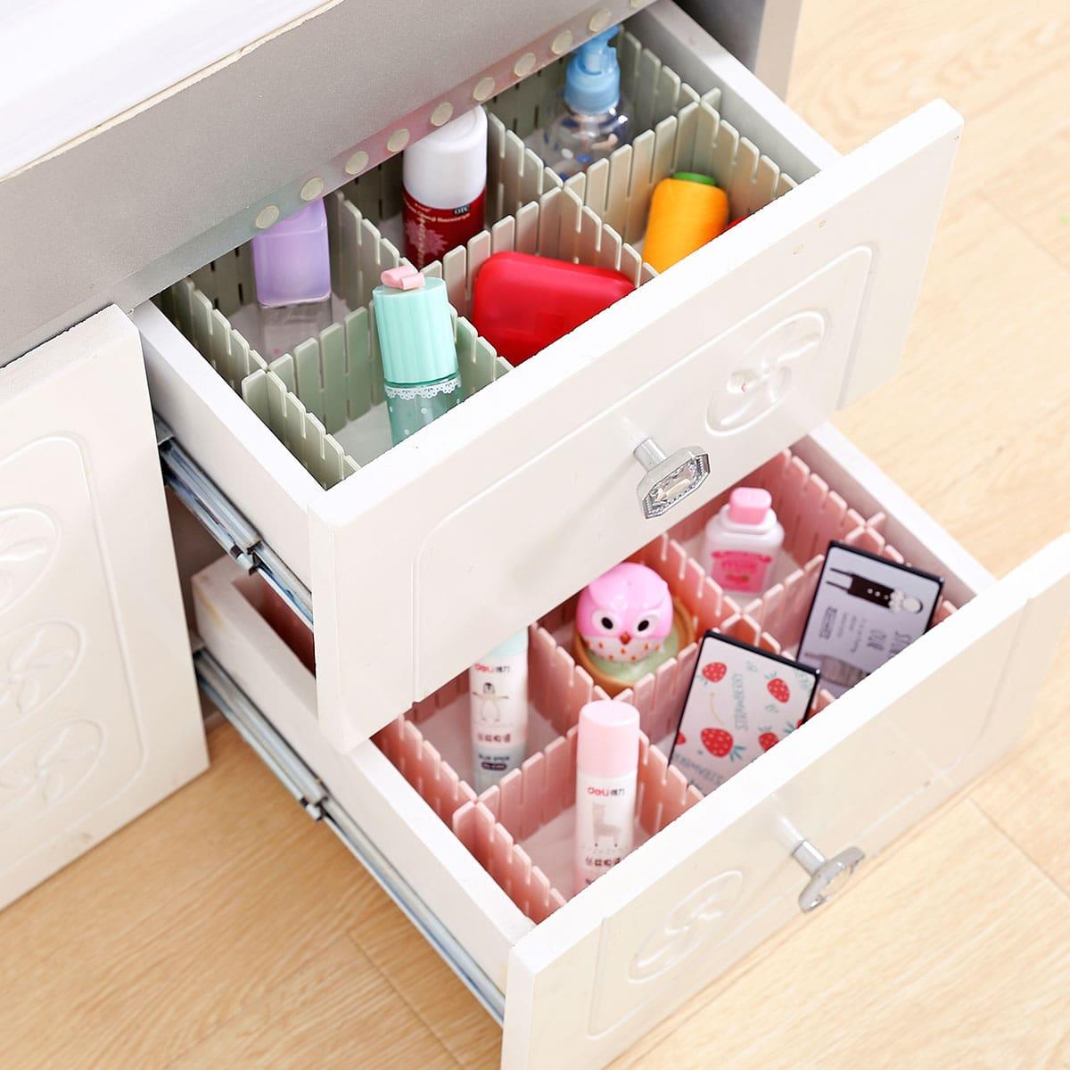 1 willekeurige opbergbox met kleurlade