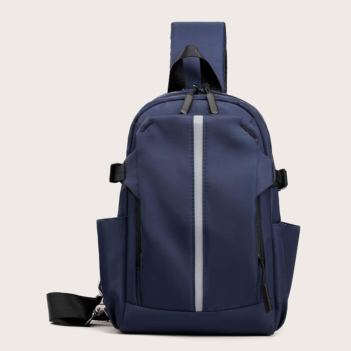 Sling Bag voor heren met strik