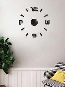 Mirror   Clock   Wall
