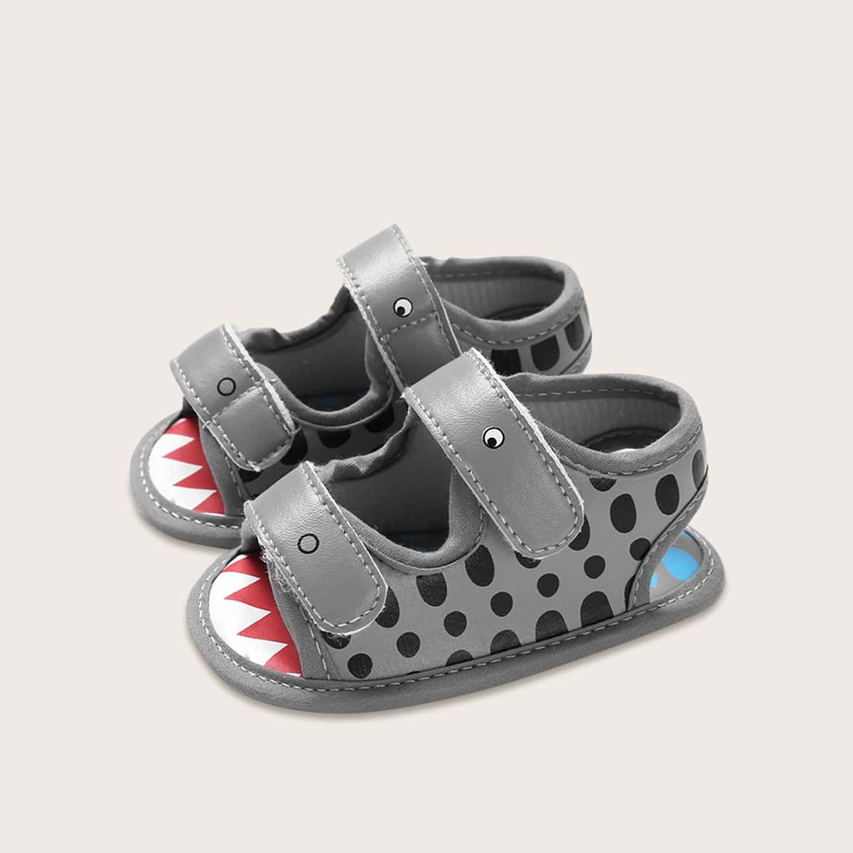 Baby Boy Cartoon grafische klittenband sandalen