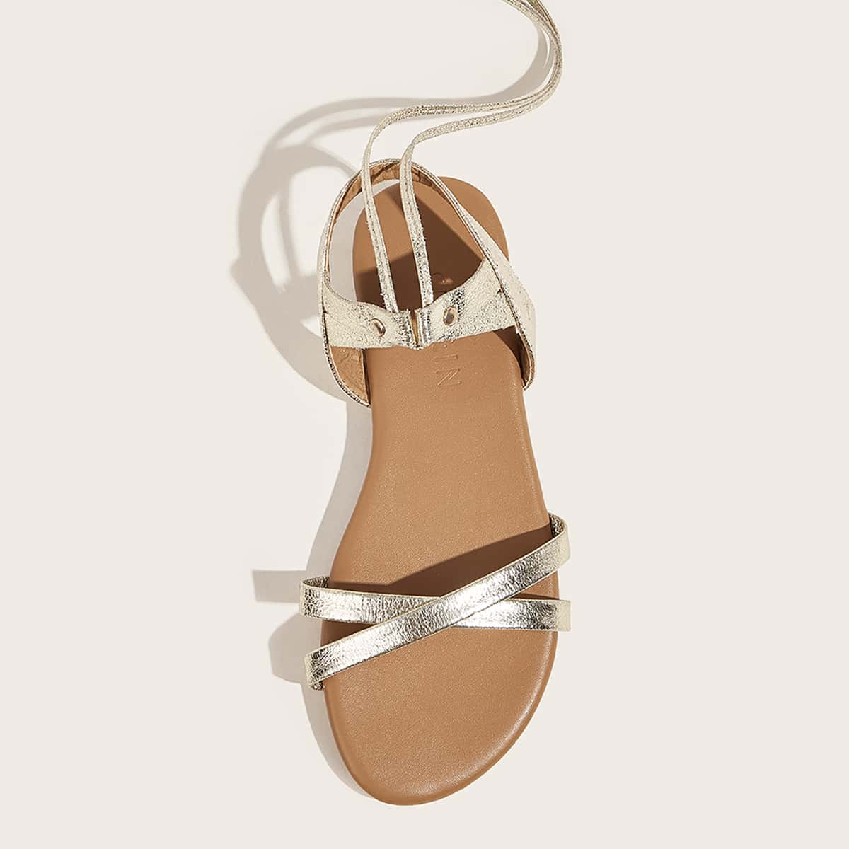 Tassel Decor Criss Cross sandalen