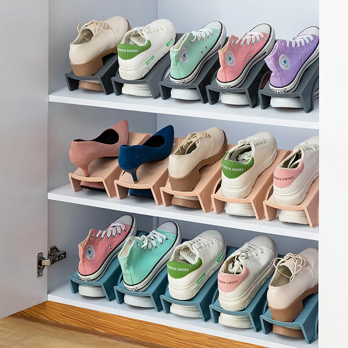 1 dubbel schoenenrek