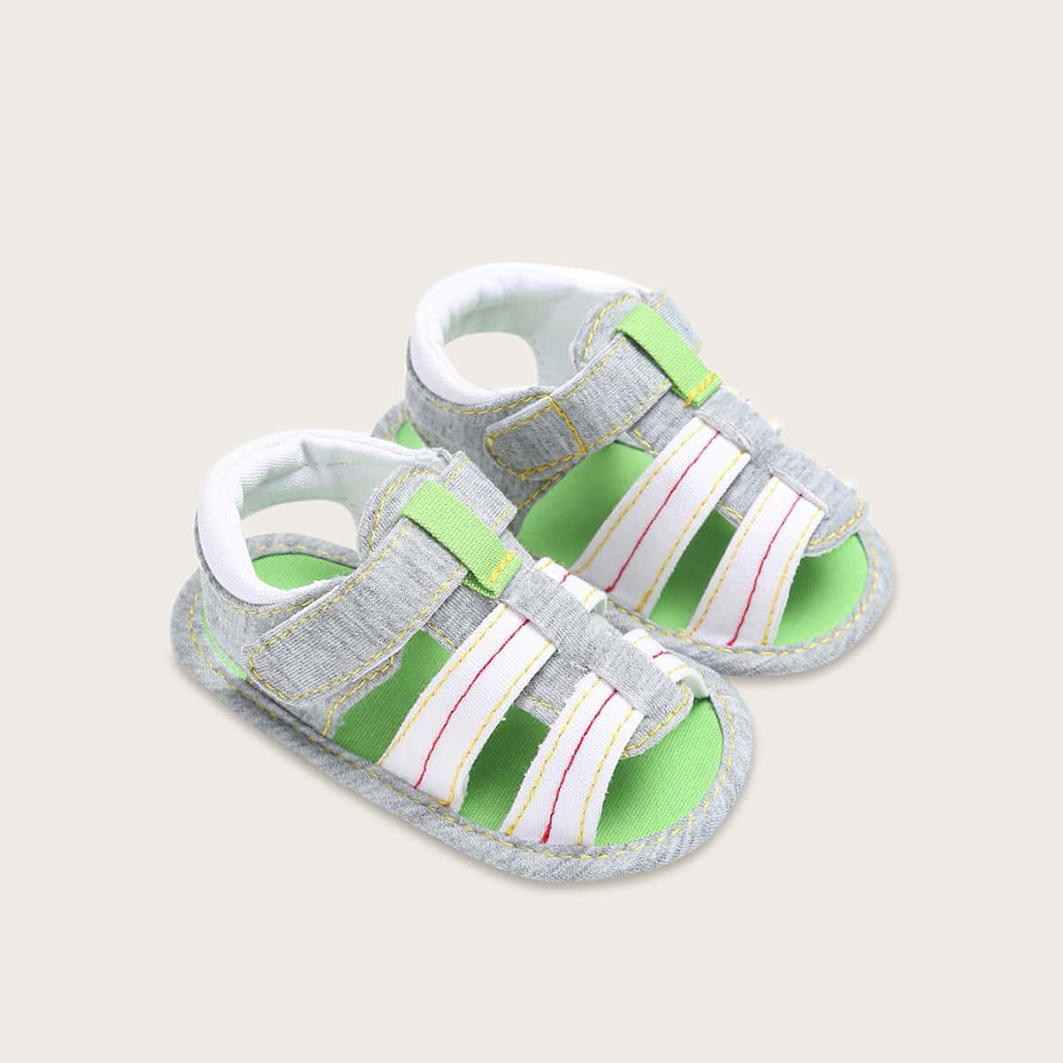 Детские гладиаторские сандалии с ремешком на липучке от SHEIN