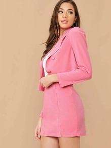 Blazer | Double | Skirt | Set