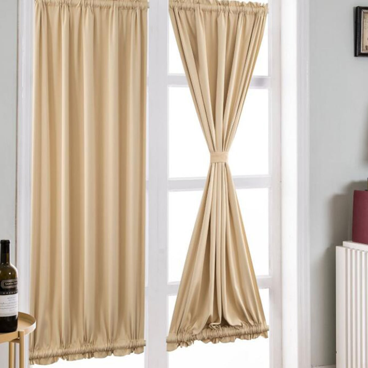1 st Solid Sheer Curtain