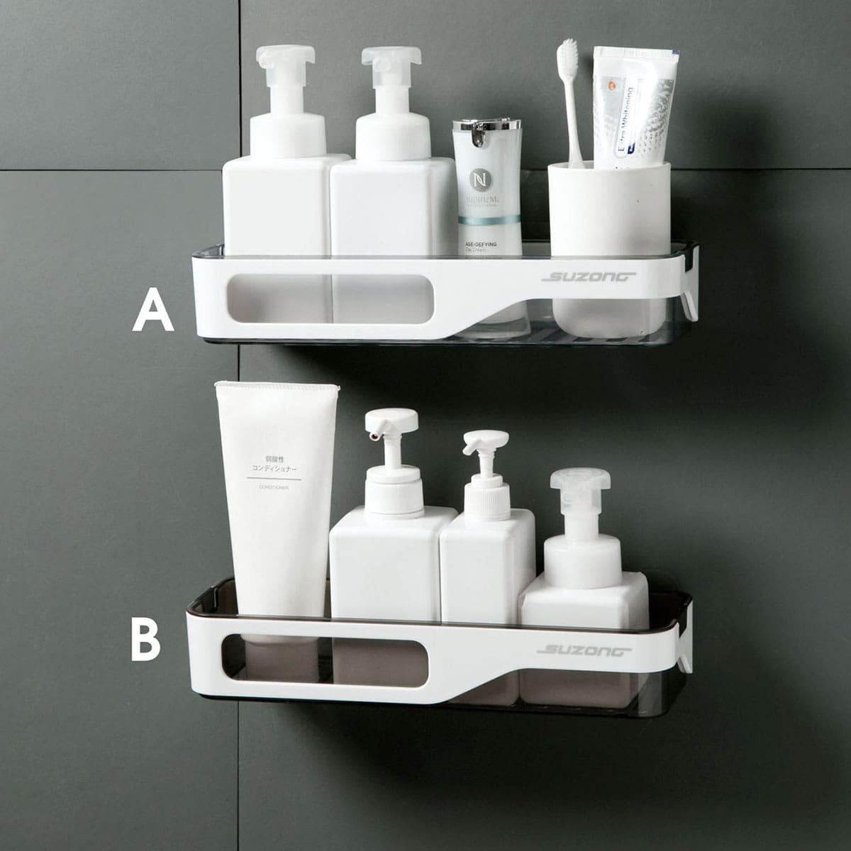 Wandrek voor wandmontage in 1 badkamer