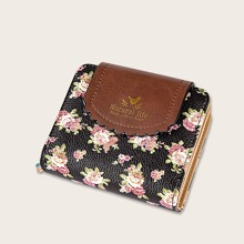 Floral Pattern Fold Over Purses (swbag18200204148) photo