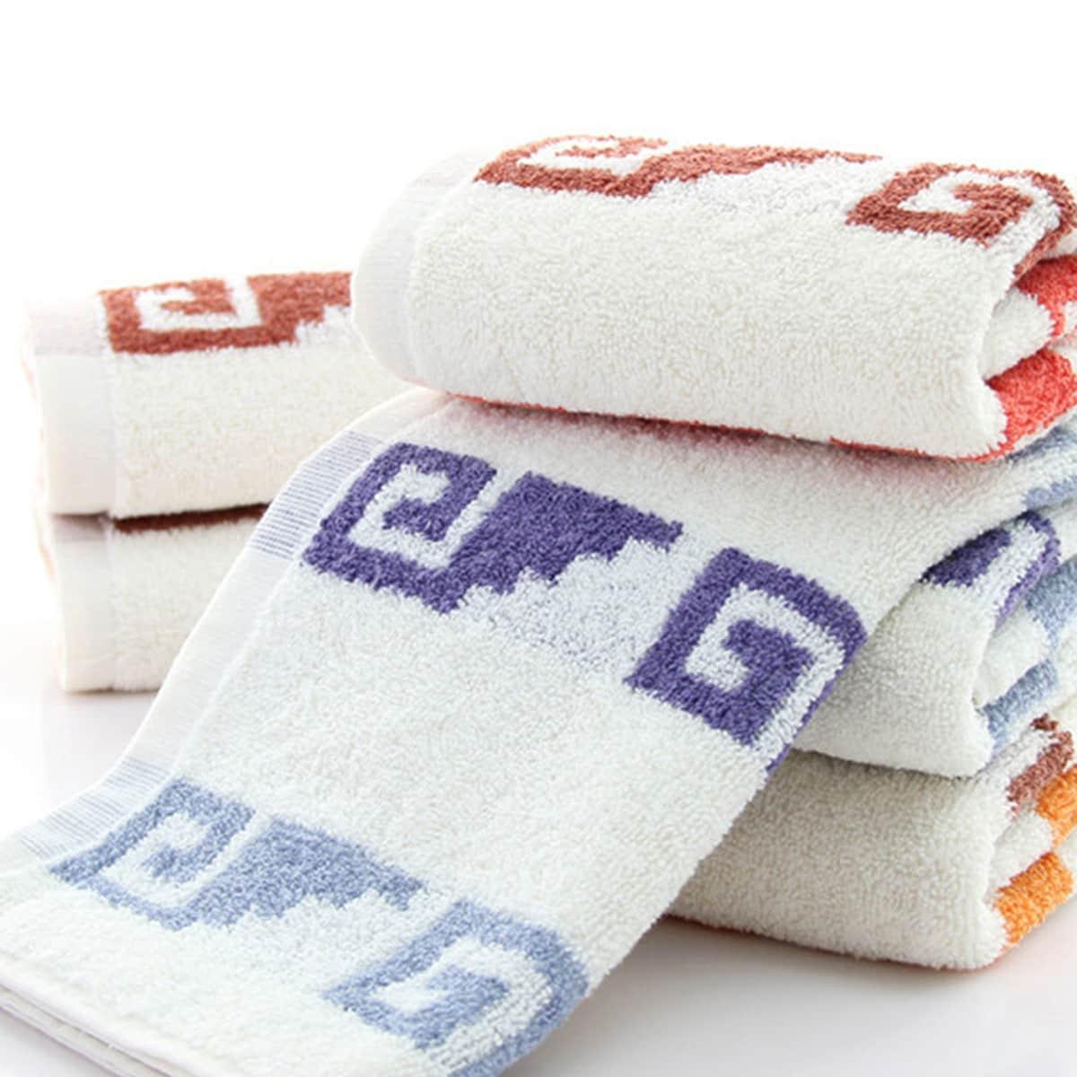 1pc grafische print handdoek