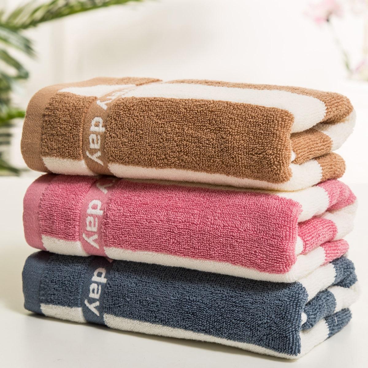 1pc gestreepte handdoek