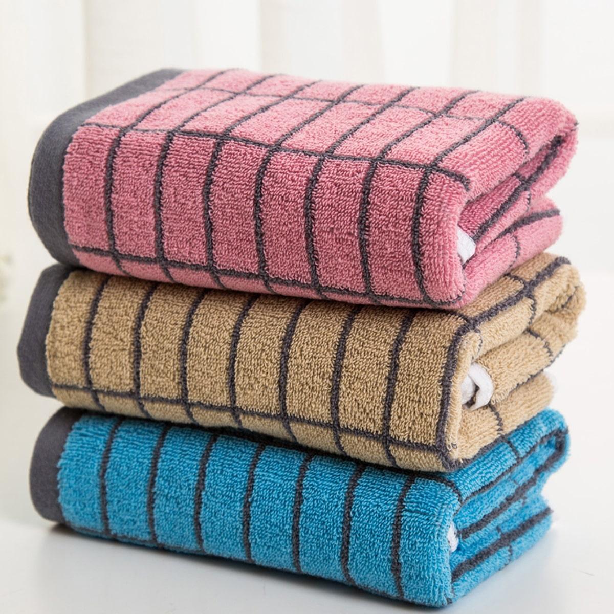 1pc geruite patroon handdoek